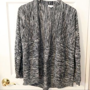 BP Marbled Open Front Cardigan Size Medium